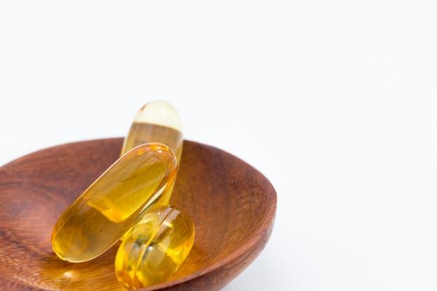 Vitaminas saudáveis Foto Premium