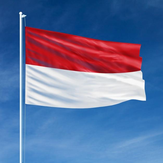Resultado de imagem para indonesia bandeira