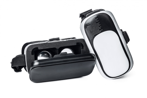Vr. óculos de realidade virtual Foto Premium