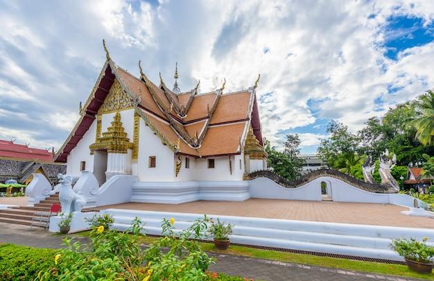 Wat phumin, distrito de muang, província de nan, tailândia. Foto Premium