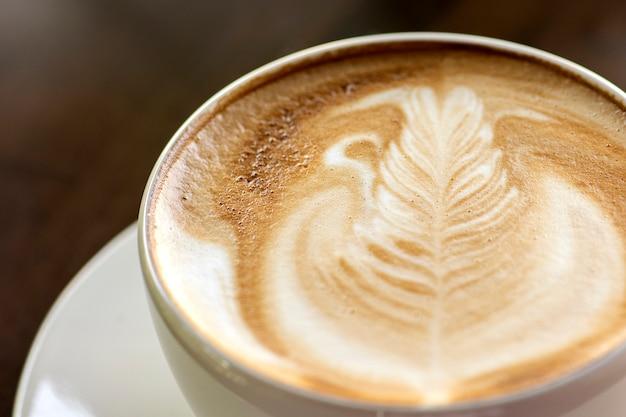 Xícara de café com leite Foto Premium