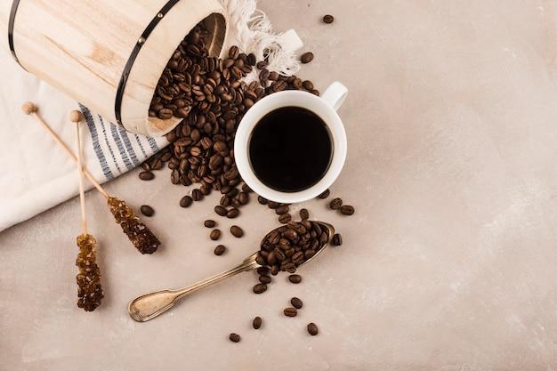 Xícara de café delicioso Foto gratuita