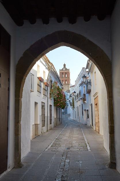 Zafra arco de jerez puerta arch extremadura Foto Premium