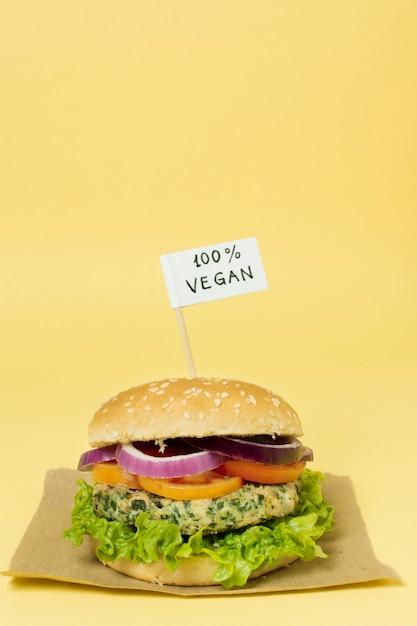100% veganer burger Kostenlose Fotos