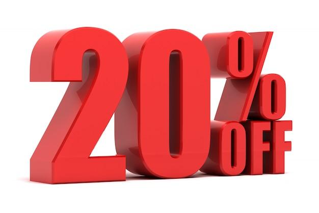 20% rabatt auf die förderung Premium Fotos
