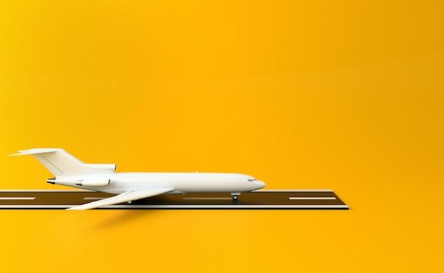 3d flugzeug Premium Fotos