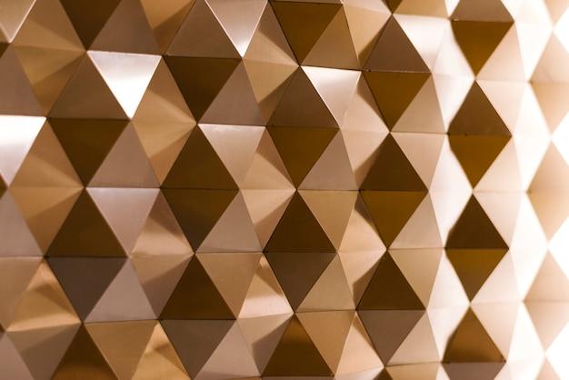 3d geometrische textur in kupfer Kostenlose Fotos