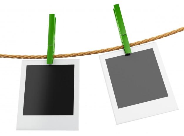 3d instant bilderrahmen h ngen an der w scheleine download der premium fotos. Black Bedroom Furniture Sets. Home Design Ideas