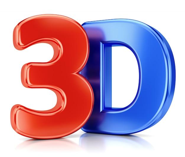 3d-logo Premium Fotos