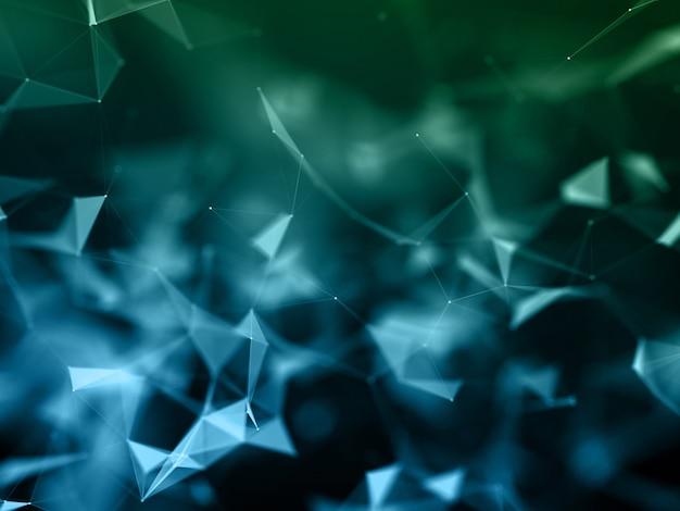 3d-plexushintergrund mit niedrigem poly Kostenlose Fotos