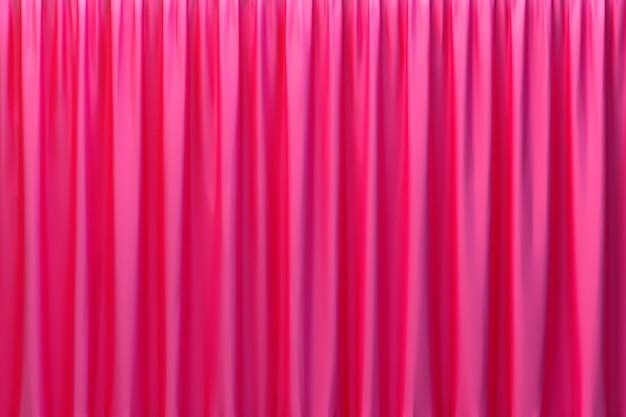 3d-rendering, luxus-stoff mit abstraktem rotem hintergrund oder flüssigkeitswelle oder gewellte falten aus satin-samt-material mit grunge-seidentextur oder luxus-hintergrund Premium Fotos