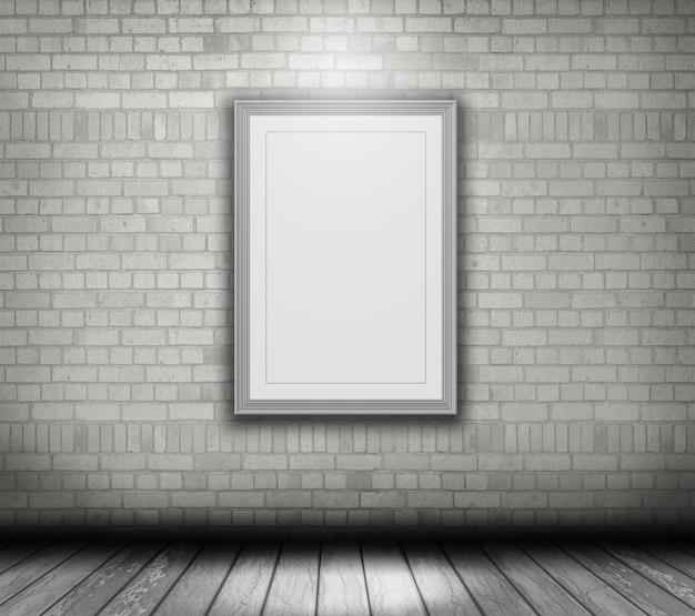 3d bertragen auf eine wei e wand eines leeren bilderrahmen download der kostenlosen fotos. Black Bedroom Furniture Sets. Home Design Ideas