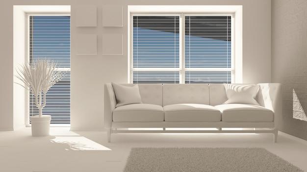 3d zeitgenössisches wohnzimmer interieur und moderne möbel Kostenlose Fotos