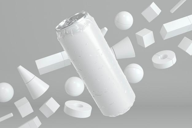 Abstrakte aluminiumdose präsentation Kostenlose Fotos