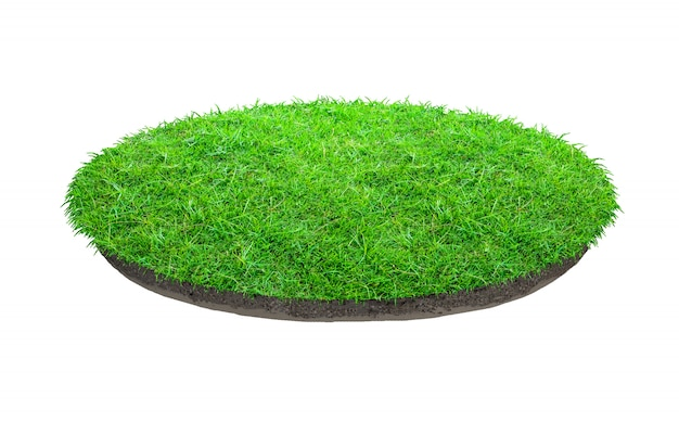Abstrakte beschaffenheit des grünen grases Premium Fotos