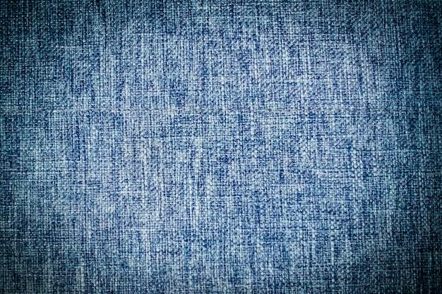 Abstrakte blaue baumwollbeschaffenheiten und -oberfläche Kostenlose Fotos