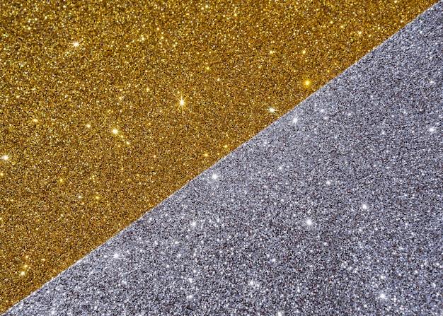 Abstrakte goldstruktur in gelb- und grautönen Premium Fotos
