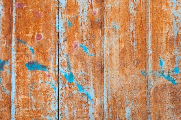 Abstrakte korrodierte bunte schmutzfläche Premium Fotos