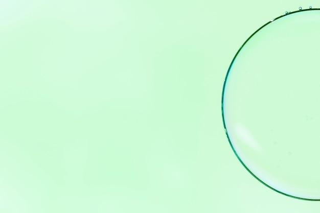 Abstrakte minimalistische vergrößerungsglasblase Kostenlose Fotos