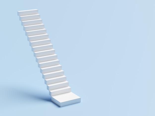 Abstrakte treppe. treppen mit stufen, geschäftskonzept Premium Fotos
