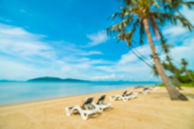 Abstrakte unschärfe und defocused tropischer strand Kostenlose Fotos