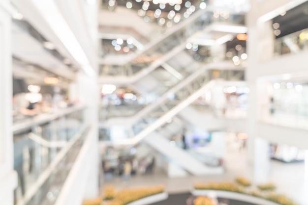 Abstrakte unschärfe und unschärfe luxus-einkaufszentrum und ladengeschäft Premium Fotos