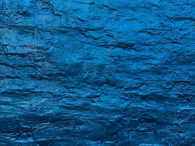 Abstrakte wasserwellen gemalte wandbeschaffenheit Kostenlose Fotos