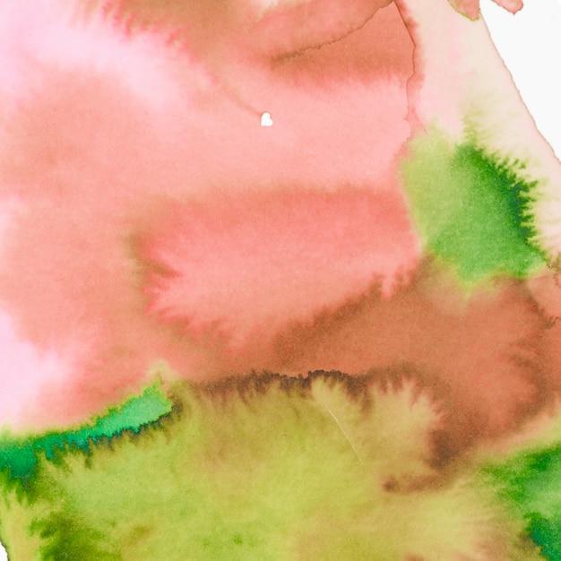 Abstrakter aquarellhintergrund mit papiersegeltuchbeschaffenheit Kostenlose Fotos