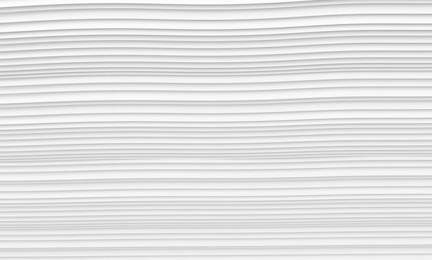 Abstrakter architektur-hintergrund. illustration 3d des weißen kreisgebäudes. Premium Fotos