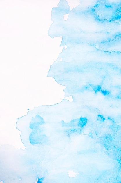 Abstrakter blauer fleckaquarellhintergrund Kostenlose Fotos