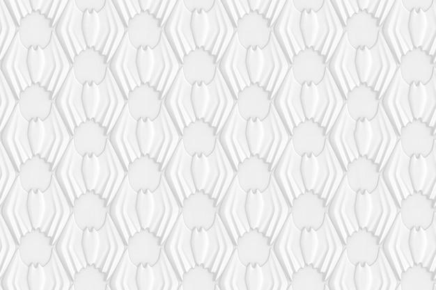 Abstrakter geometrischer farbiger hintergrund basiert auf einem sechseckigen gitter mit dem bild von schlägern Premium Fotos