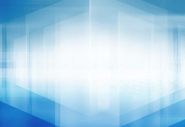 Abstrakter hightech- hintergrund des raumes 3d Premium Fotos