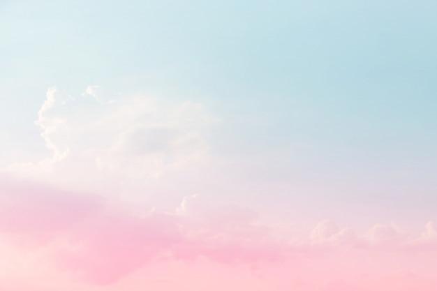 Abstrakter himmelhintergrund in der süßen farbe. Premium Fotos