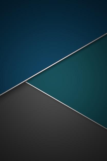 Abstrakter hintergrund. 3d-rendering. Premium Fotos
