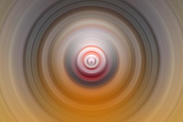 Abstrakter hintergrund der drehbeschleunigungskreis-radialbewegungsunschärfe. hintergrund für modernes grafikdesign und text. Premium Fotos