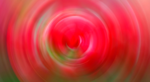 Abstrakter hintergrund der roten drehbeschleunigungs-kreis-radialbewegungsunschärfe. Premium Fotos