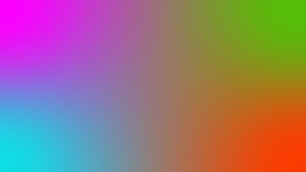 Abstrakter hintergrund holographische farbverlauf futuristische 3d-rendering Premium Fotos
