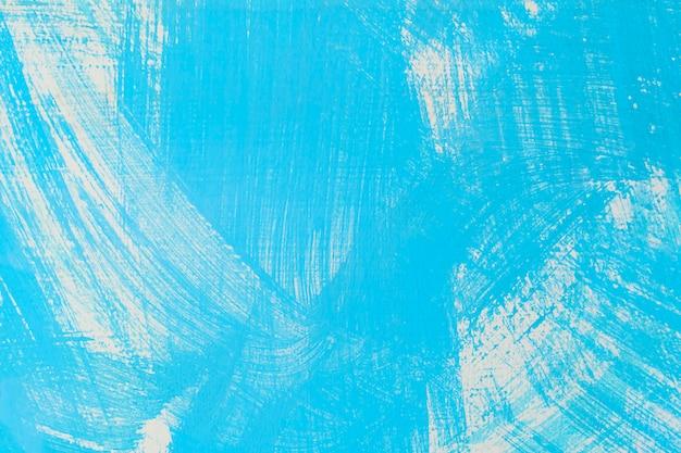 Abstrakter hintergrund von der blauen farbe gemalt auf alter betonmauer Premium Fotos