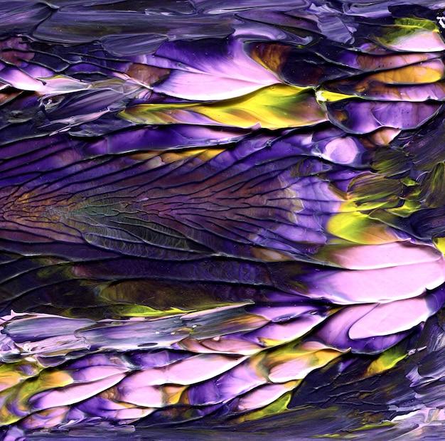 Abstrakter kosmischer hintergrund. kreative mischanstrichbeschaffenheit. einzigartige kunst. Premium Fotos