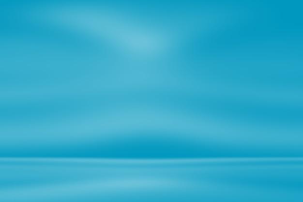 Abstrakter luxusgradient blauer hintergrund. Premium Fotos