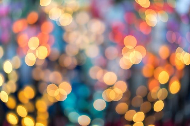 Abstrakter mehrfarbiger bokeh hintergrund. Premium Fotos