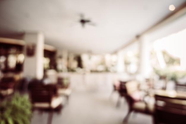 Abstrakter unschärfe restaurantinnenraum Kostenlose Fotos