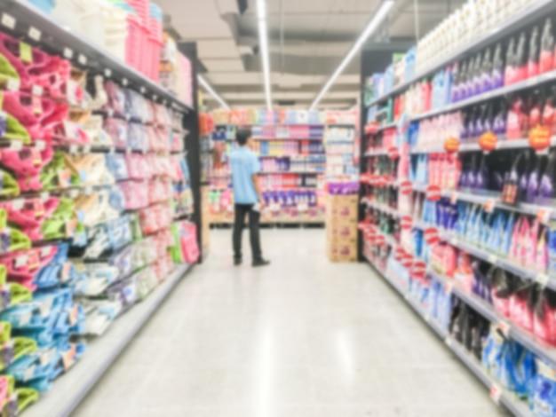 Abstrakter unschärfe supermarkt Kostenlose Fotos
