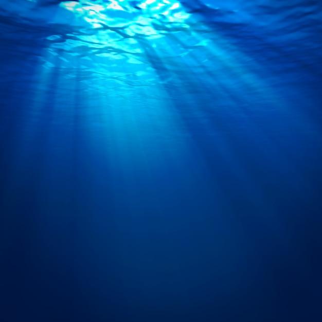 Abstrakter unterwasserhintergrund Premium Fotos