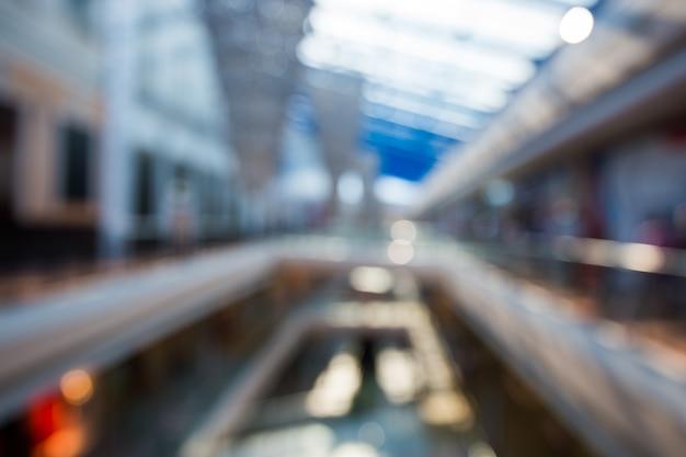 Abstrakter verwischender einkaufszentrumhintergrund Premium Fotos