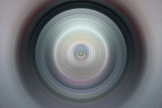 Abstraktes bild. konzentrische kreise um den mittelpunkt. blitzlicht. hintergrund. Premium Fotos