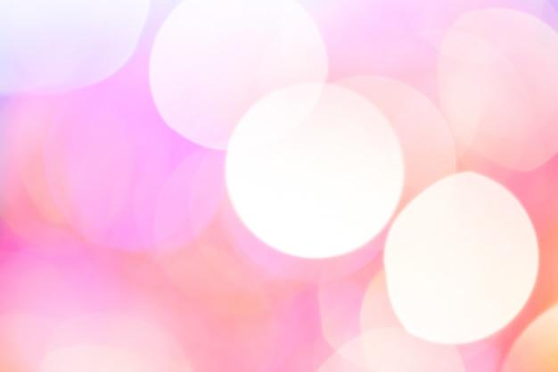 Abstraktes bokeh licht. pfirsichfarbene farbe. Premium Fotos