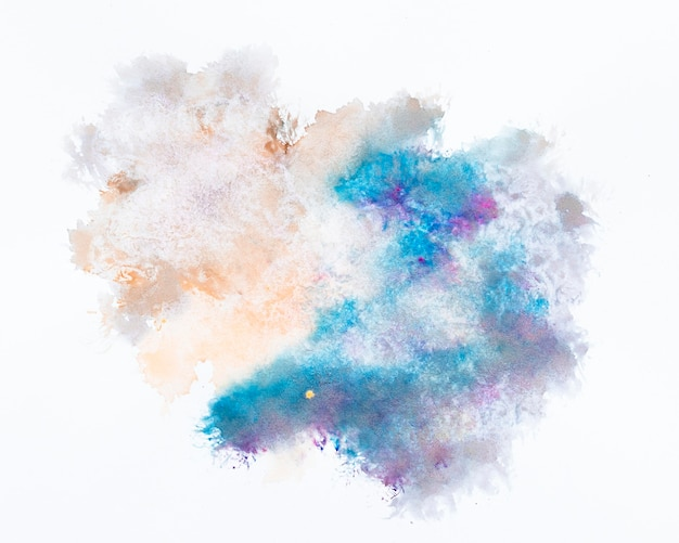 Abstraktes design aquarellfleck Kostenlose Fotos