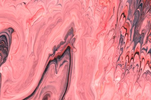 Abstraktes rosa bewegt flüssiges acryl für malerei wellenartig Kostenlose Fotos