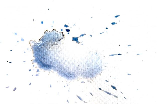 Abstraktes schwarzweiss-aquarelllicht gemalter hintergrund oder beschaffenheit. Premium Fotos
